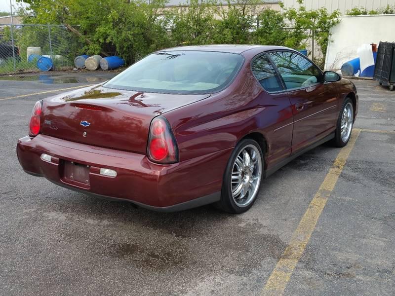 2002 Chevrolet Monte Carlo LS 2dr Coupe - Villa Park IL