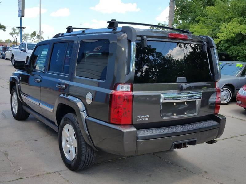 2006 Jeep Commander Limited 4dr SUV 4WD - Villa Park IL