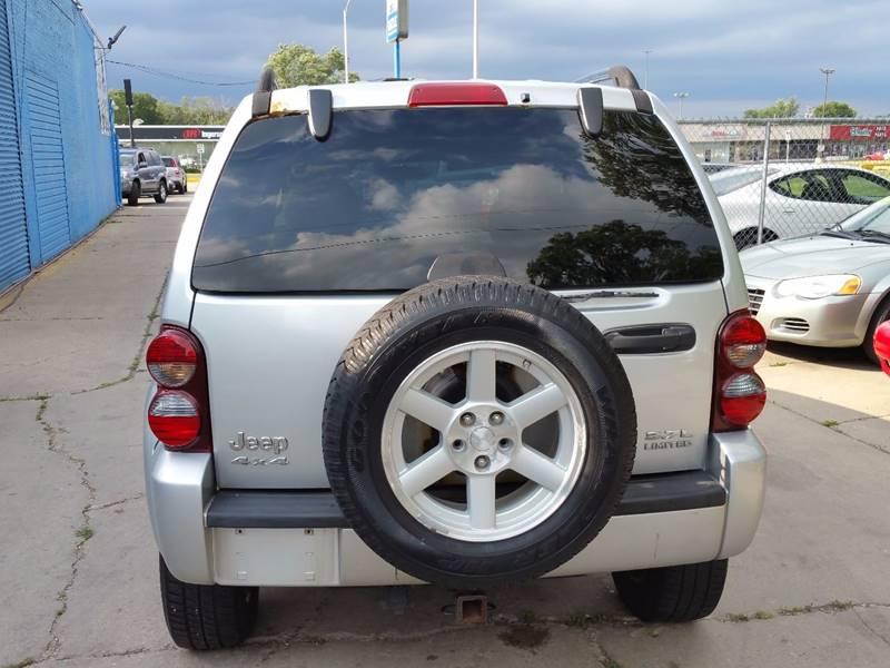 2005 Jeep Liberty Limited 4WD 4dr SUV w/ 28F - Villa Park IL