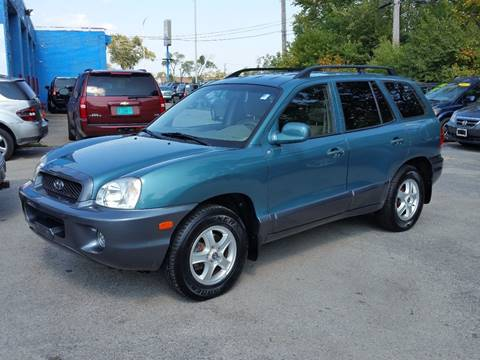 2001 Hyundai Santa Fe for sale in Villa Park, IL