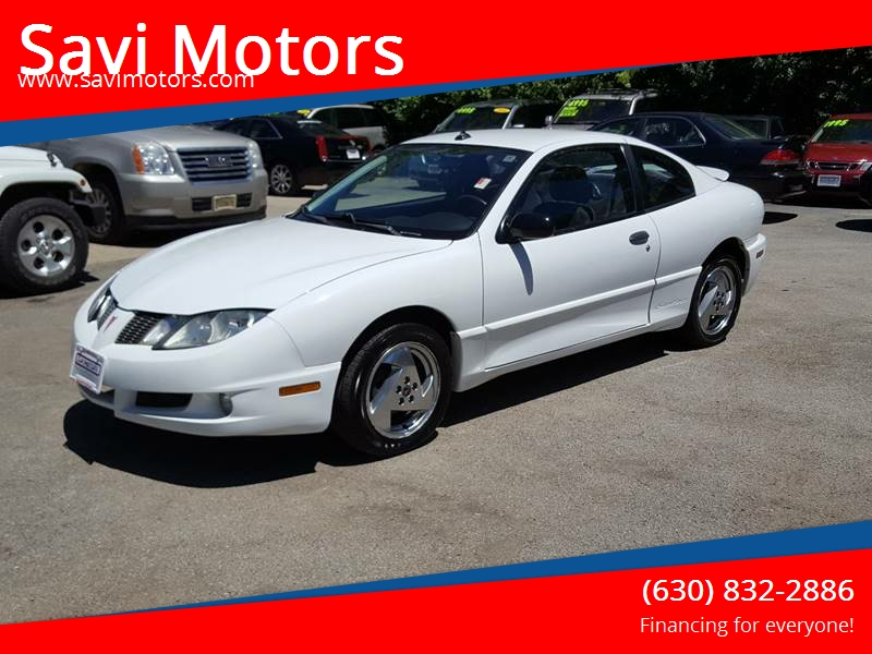 2003 Pontiac Sunfire 2dr Coupe In Villa Park Il Savi Motors