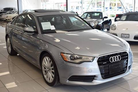 2012 Audi A6 for sale at Legend Auto in Sacramento CA