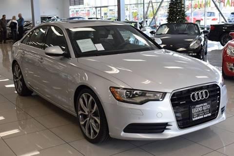 2014 Audi A6 for sale at Legend Auto in Sacramento CA