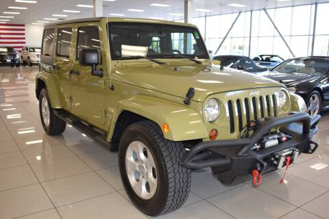 2013 Jeep Wrangler Unlimited for sale at Legend Auto in Sacramento CA