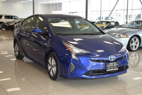 2016 Toyota Prius for sale at Legend Auto in Sacramento CA
