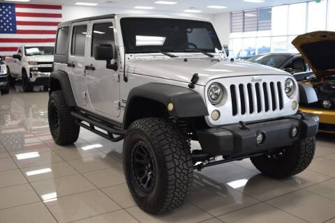 2012 Jeep Wrangler Unlimited for sale at Legend Auto in Sacramento CA