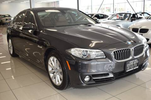 2016 BMW 5 Series for sale at Legend Auto in Sacramento CA