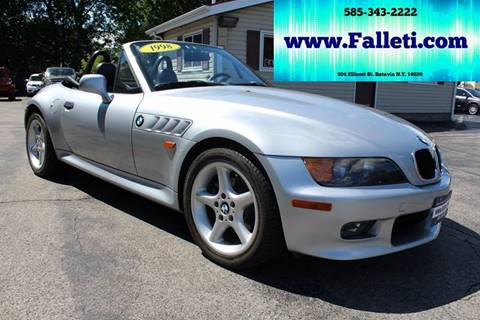 1998 BMW Z3 for sale at Falleti Motors, Inc.  est. 1976 in Batavia NY