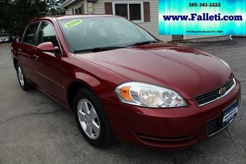 2008 Chevrolet Impala for sale at Falleti Motors, Inc.  est. 1976 in Batavia NY