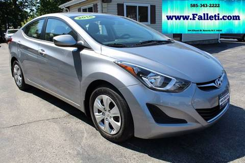 2016 Hyundai Elantra for sale at Falleti Motors, Inc.  est. 1976 in Batavia NY