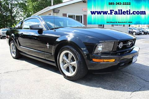 2006 Ford Mustang for sale at Falleti Motors, Inc.  est. 1976 in Batavia NY