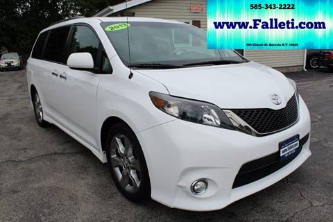 2013 Toyota Sienna for sale at Falleti Motors, Inc.  est. 1976 in Batavia NY