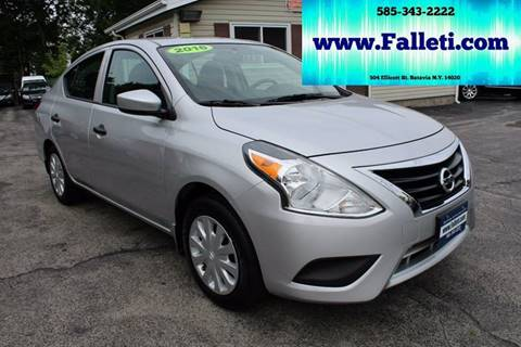 2016 Nissan Versa for sale at Falleti Motors, Inc.  est. 1976 in Batavia NY