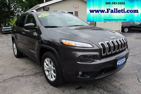 2014 Jeep Cherokee for sale at Falleti Motors, Inc.  est. 1976 in Batavia NY