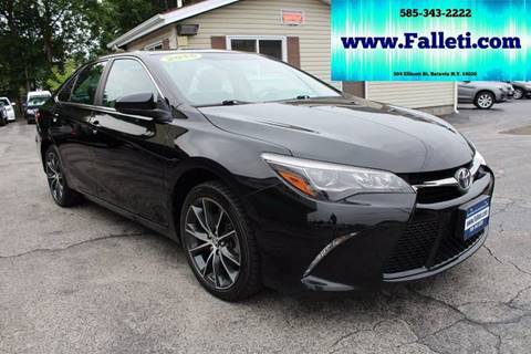 2015 Toyota Camry for sale at Falleti Motors, Inc.  est. 1976 in Batavia NY