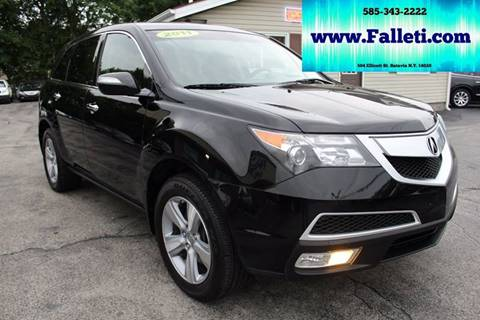 2011 Acura MDX for sale at Falleti Motors, Inc.  est. 1976 in Batavia NY