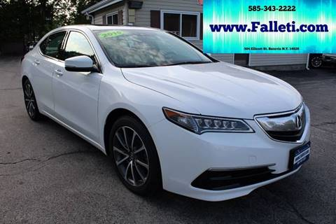 2015 Acura TLX for sale at Falleti Motors, Inc.  est. 1976 in Batavia NY