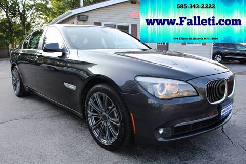 2012 BMW 7 Series for sale at Falleti Motors, Inc.  est. 1976 in Batavia NY