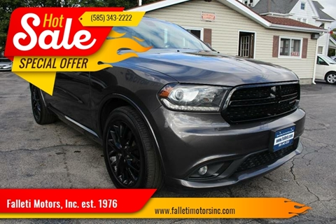2016 Dodge Durango for sale at Falleti Motors, Inc.  est. 1976 in Batavia NY