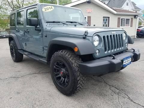 2014 Jeep Wrangler Unlimited for sale at Falleti Motors, Inc.  est. 1976 in Batavia NY