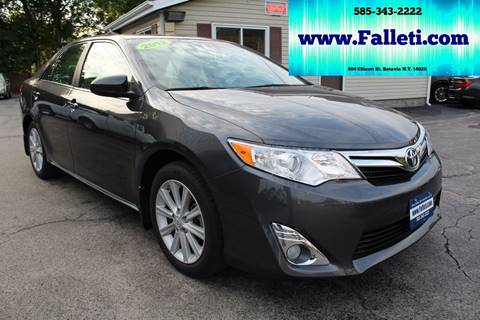 2012 Toyota Camry for sale at Falleti Motors, Inc.  est. 1976 in Batavia NY