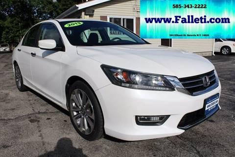 2013 Honda Accord for sale at Falleti Motors, Inc.  est. 1976 in Batavia NY