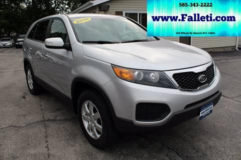 2011 Kia Sorento for sale at Falleti Motors, Inc.  est. 1976 in Batavia NY