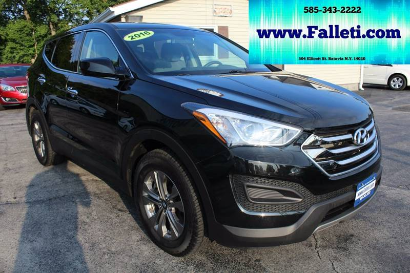 2016 Hyundai Santa Fe Sport for sale at Falleti Motors, Inc.  est. 1976 in Batavia NY