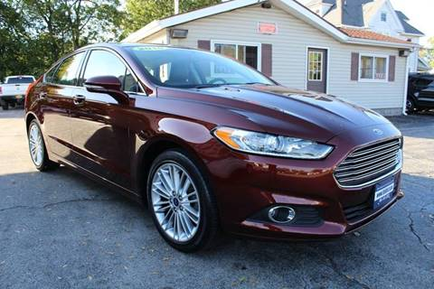 2016 Ford Fusion for sale at Falleti Motors, Inc.  est. 1976 in Batavia NY