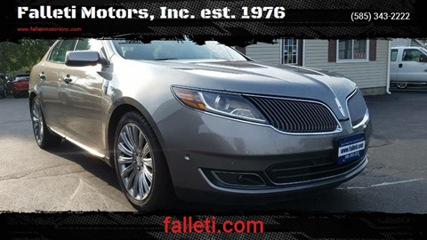 2015 Lincoln MKS for sale at Falleti Motors, Inc.  est. 1976 in Batavia NY