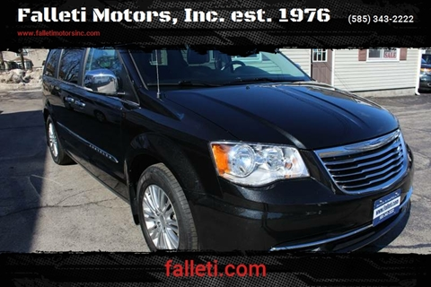 2015 Chrysler Town and Country for sale at Falleti Motors, Inc.  est. 1976 in Batavia NY
