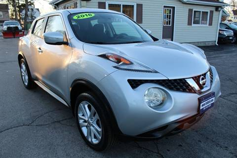 2016 Nissan JUKE for sale at Falleti Motors, Inc.  est. 1976 in Batavia NY
