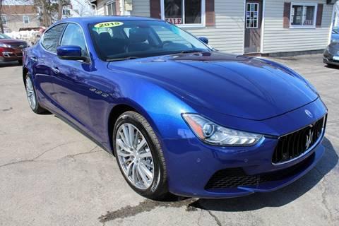 2015 Maserati Ghibli for sale at Falleti Motors, Inc.  est. 1976 in Batavia NY