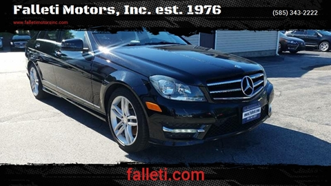2014 Mercedes-Benz C-Class for sale at Falleti Motors, Inc.  est. 1976 in Batavia NY