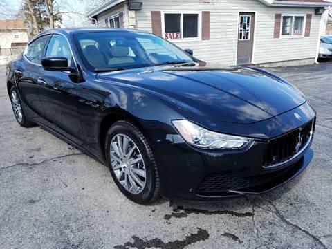 2014 Maserati Ghibli for sale at Falleti Motors, Inc.  est. 1976 in Batavia NY
