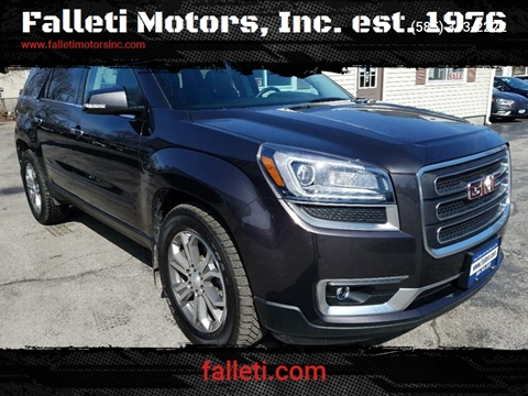 2015 GMC Acadia for sale at Falleti Motors, Inc.  est. 1976 in Batavia NY