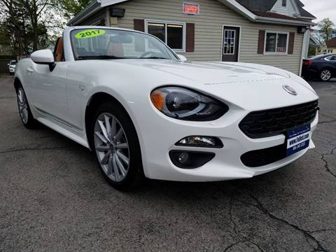 2017 FIAT 124 Spider for sale at Falleti Motors, Inc.  est. 1976 in Batavia NY