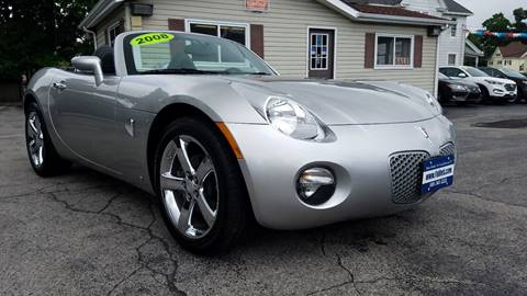 2008 Pontiac Solstice for sale at Falleti Motors, Inc.  est. 1976 in Batavia NY
