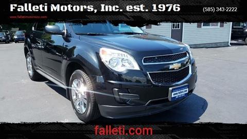 2013 Chevrolet Equinox for sale at Falleti Motors, Inc.  est. 1976 in Batavia NY