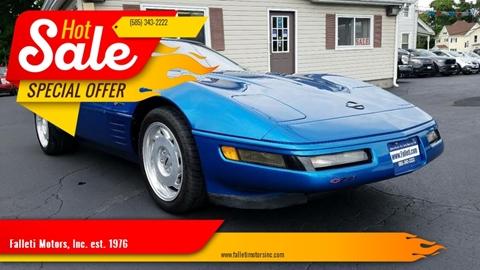 1992 Chevrolet Corvette for sale at Falleti Motors, Inc.  est. 1976 in Batavia NY