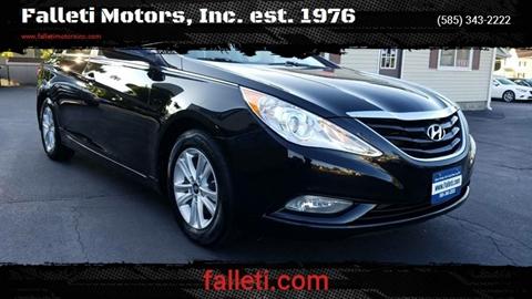 2013 Hyundai Sonata for sale at Falleti Motors, Inc.  est. 1976 in Batavia NY