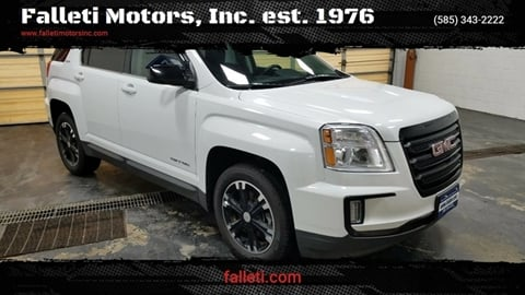 2017 GMC Terrain for sale at Falleti Motors, Inc.  est. 1976 in Batavia NY