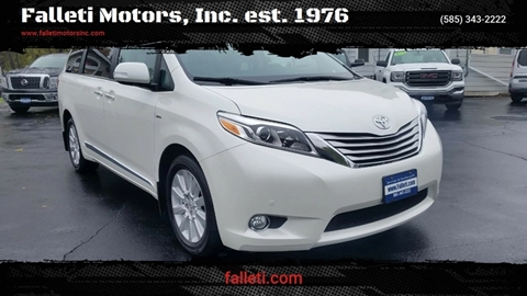 2017 Toyota Sienna for sale at Falleti Motors, Inc.  est. 1976 in Batavia NY