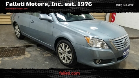 2008 Toyota Avalon for sale at Falleti Motors, Inc.  est. 1976 in Batavia NY