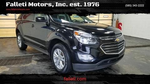 2017 Chevrolet Equinox for sale at Falleti Motors, Inc.  est. 1976 in Batavia NY