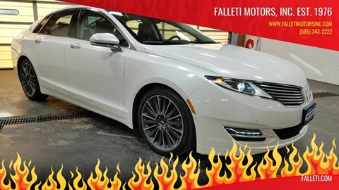 2016 Lincoln MKZ for sale at Falleti Motors, Inc.  est. 1976 in Batavia NY