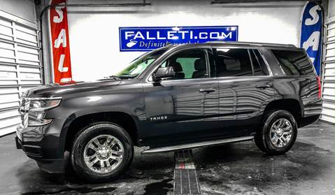 2015 Chevrolet Tahoe LS for sale at Falleti Motors, Inc.  est. 1976 in Batavia NY
