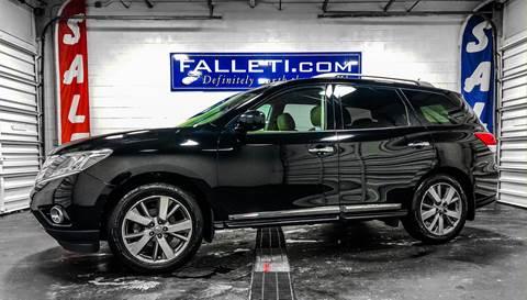 2014 Nissan Pathfinder Platinum for sale at Falleti Motors, Inc.  est. 1976 in Batavia NY
