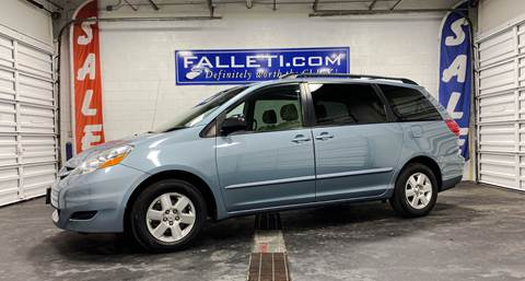2008 Toyota Sienna for sale at Falleti Motors, Inc.  est. 1976 in Batavia NY