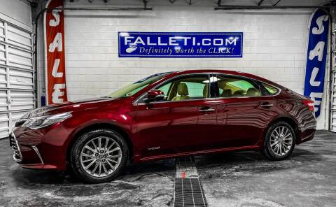 2016 Toyota Avalon Hybrid for sale at Falleti Motors, Inc.  est. 1976 in Batavia NY